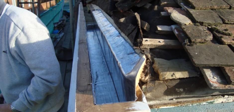 lead box gutter