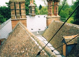 Kent peg and slate roof