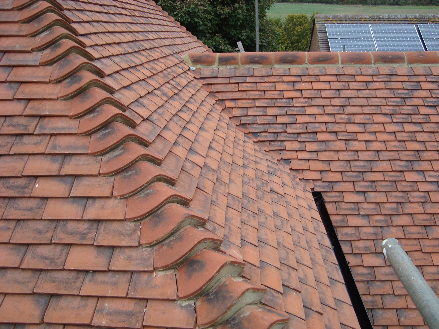Comprehensive coverings petham school clay tiled roofs for Clay roofs